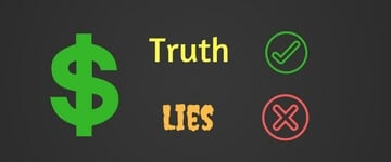 Lies about investing