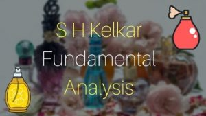 S H Kelkar Fundamental Analysis