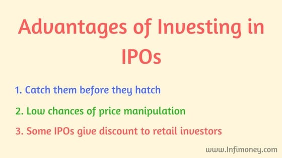 advantages of investing in IPOs