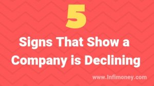 Signs That Show a Company is Declining