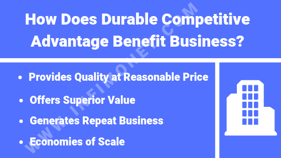 durable competitive advantage