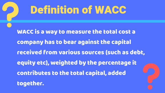 what is WACC